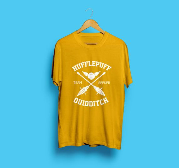 Harry Potter Shirt Tshirt T shirt Hufflepuff Potter Shirt Hufflepuff Shirt Hufflepuff Quidditch Potter Hogwarts Alumni Quidditch Shirt 205