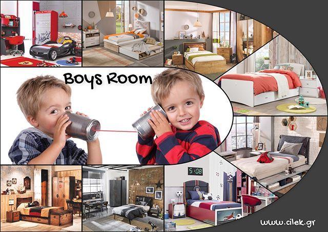 Μοναδικά παιδικά δωμάτια για αγόρια βγαλμένα από ιστορίες που συναρπάζουν και εξιτάρουν μικρά και μεγάλα παιδιά. Δείτε όλα τα δωμάτια στο www.cilek.gr #cilekgreece