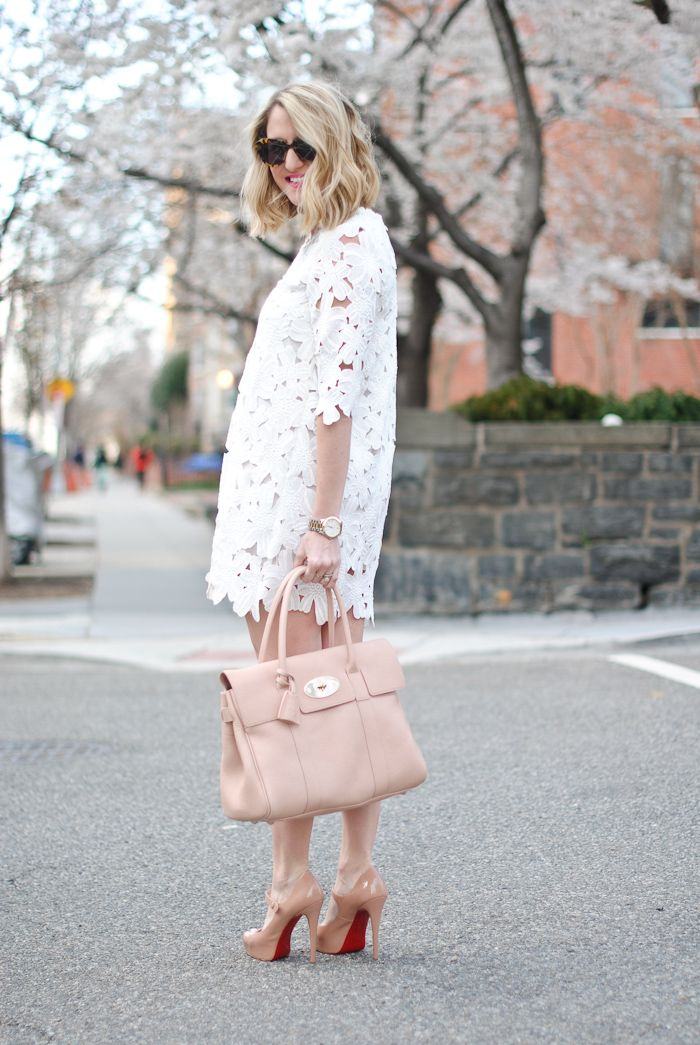 Peep-Toe Louboutins & a Ballet Pink Mulberry...
