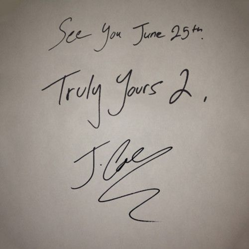 "J. Cole – ""Truly Yours 2″ (Free Mixtape ft. 2Chainz, Young Jeezy)"