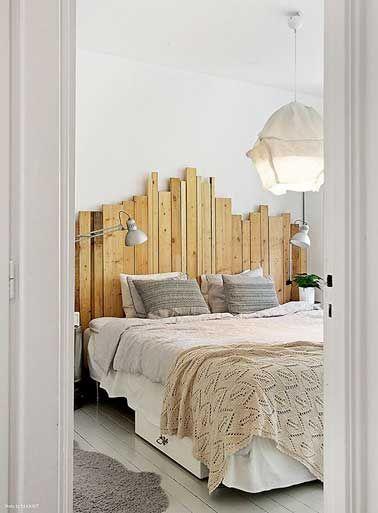Best 25 lit en palette ideas on pinterest lit palette - Cloison en palette ...