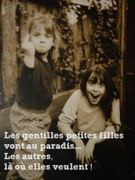 Lavie Avec Skinny: Les Gentilles Petites Filles Vont Au Paradis... Les Autres Là Où Elles Veulent.