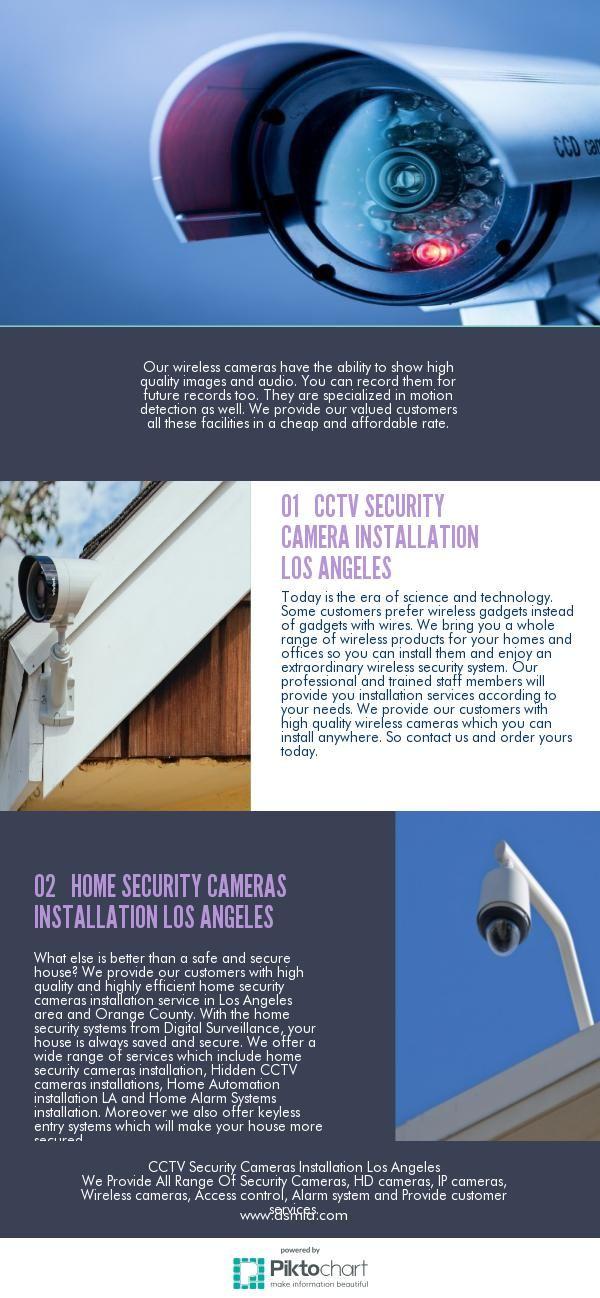 CCTV Security Cameras Installation Los Angeles. Provide all range of security cameras, surveillance cameras, DVR, access control, alarm system and equipment in Los Angeles