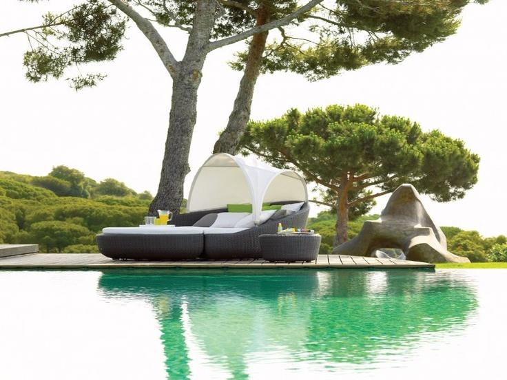Tuinmeubelen Gloster Eclipse: lounge tuinmeubelen