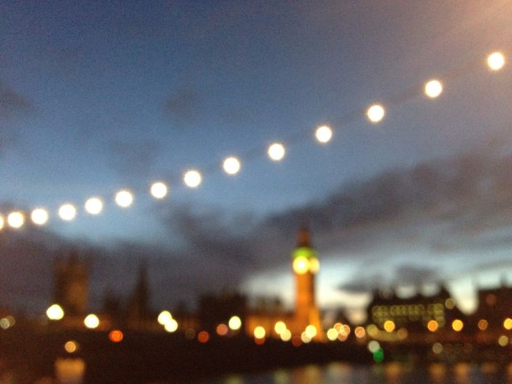 Blury view in London