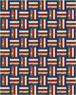 Alycia Quilts: Scrappy Rail Fence Pattern for Jan 30th Sew day