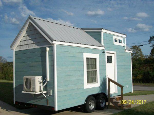 20ft Tiny House With Main Floor Murphy Bed Tiny House Listings Tiny Houses For Sale Tiny House Trailer