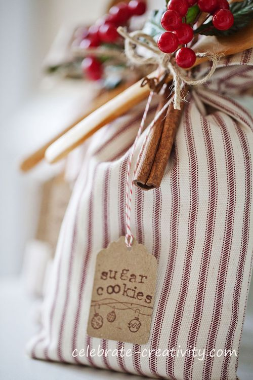 Handcrafted Sugar Cookie Gift Sack