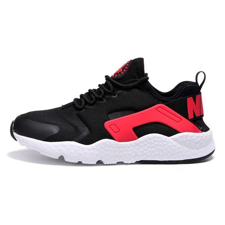Nike Air Huarache Ultra Red white black Unisex trainers 819151-008