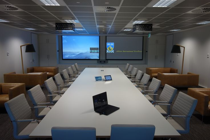 PURE executive chairs by Burgtec (Project: IOMRC @ UWA)