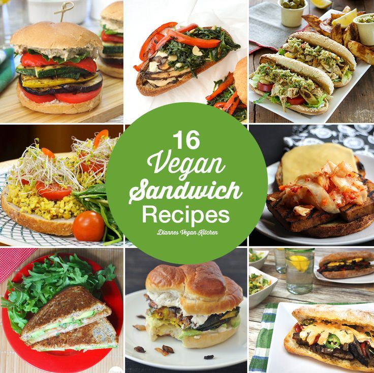 To help you create a tastier lunch, here are 16 of my favorite vegan sandwich recipes /diannewenz/