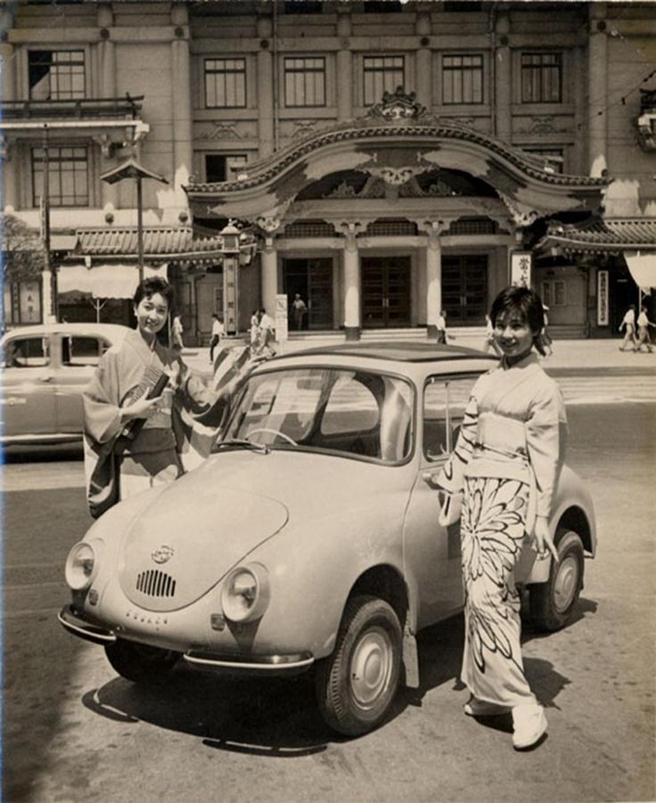 Subaru 360 - Año 1958