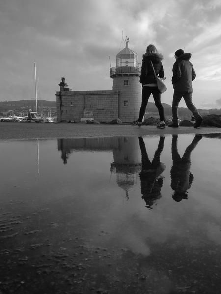 Howth Lighthouse Reflected Photo by David D. — National Geographic Your Shot