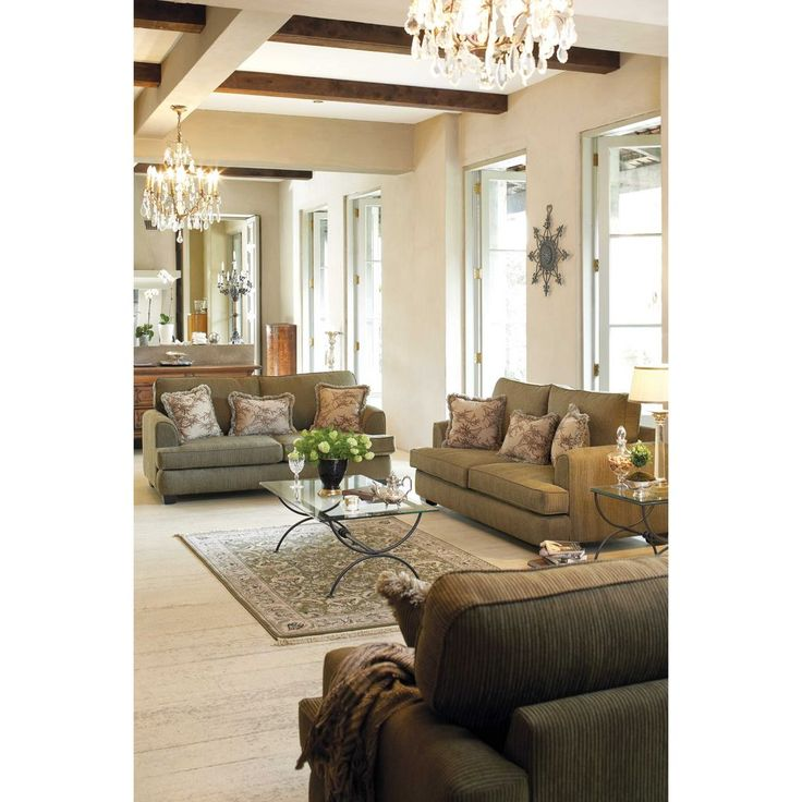 Standford 3-Piece Fabric Lounge Suite