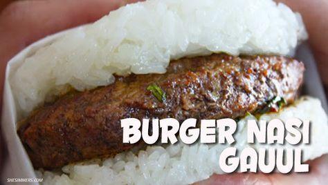 Masakan Praktis Rumahan: Resep Nasi Burger Gaul