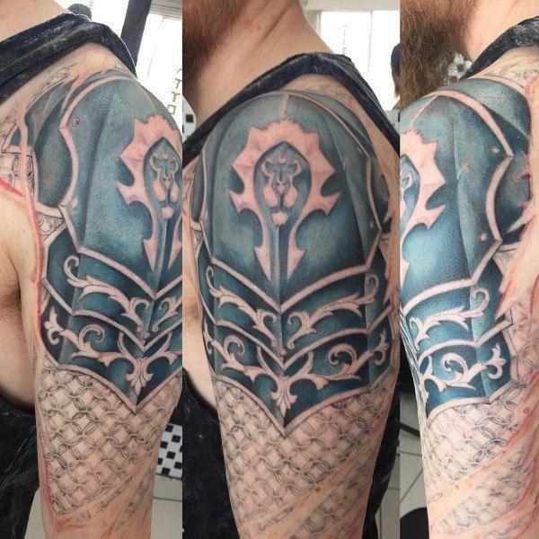 Pin By 360fov Chu On Tatto Warcraft In 2020 Gaming Tattoo World Of Warcraft Tattoos