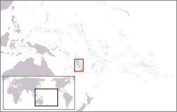 Amplasarea Vanuatului