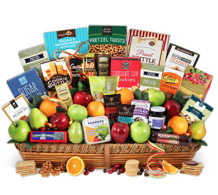 68 best gift baskets ideas images on pinterest gift basket ideas signature series fruit and gourmet gift basket negle Image collections