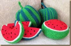 AMIGURUMI – FRUITS & VEGETABLES