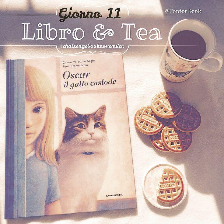 •Giorno 11• La mia bevanda preferita...il té, caldo, morbido, accogliente proprio come questo libro ☕️ #Buongiorno #challengebooknovember