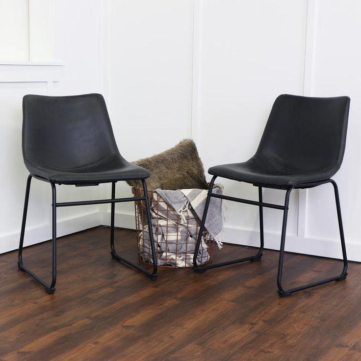 best 25+ black leather dining chairs ideas on pinterest | black