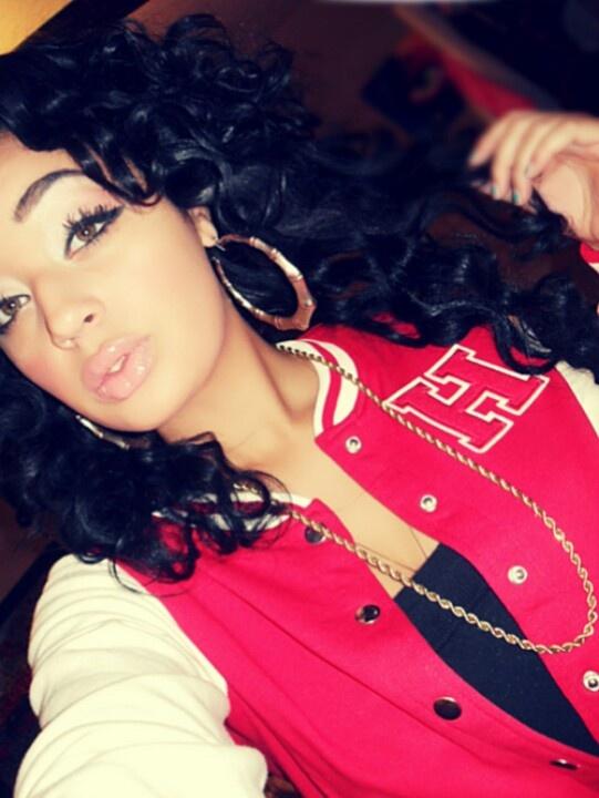 Mixed Race Girl Swag