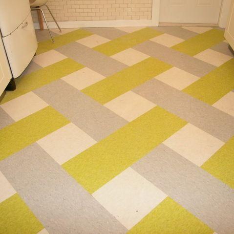 Basketweave Linoleum Pattern Cool House Stuff