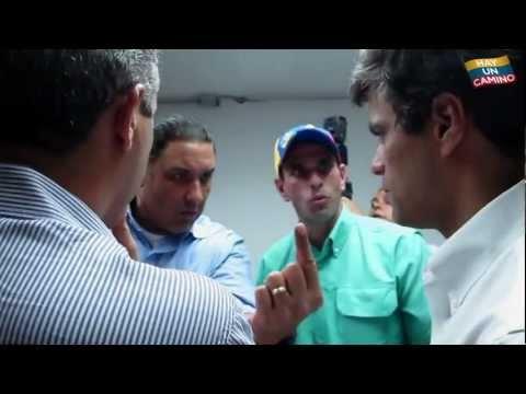 12F. Elecciones Primarias. Henrique Capriles Radonski.