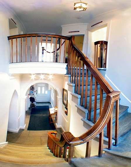 Bronte Parsonage, Haworth - The Stairs