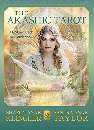 The Akashic Tarot: A 62-Card Deck and Guidebook. The Akashic Tarot is a tool for predicting the future, unveiling hidden insights and unleashing new powers. This unique 62-card deck is designed to access the profound energy and unlimited information that make up the Akashic Records, which are great fields of wisdom and power that transcend time and space and are immediately available to all.