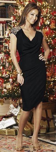 Preysler glamour en negro.