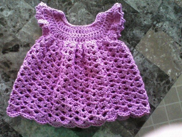 Looking for crocheting project inspiration? Check out Angel Wings Pinafore by member CraftyMommy4.