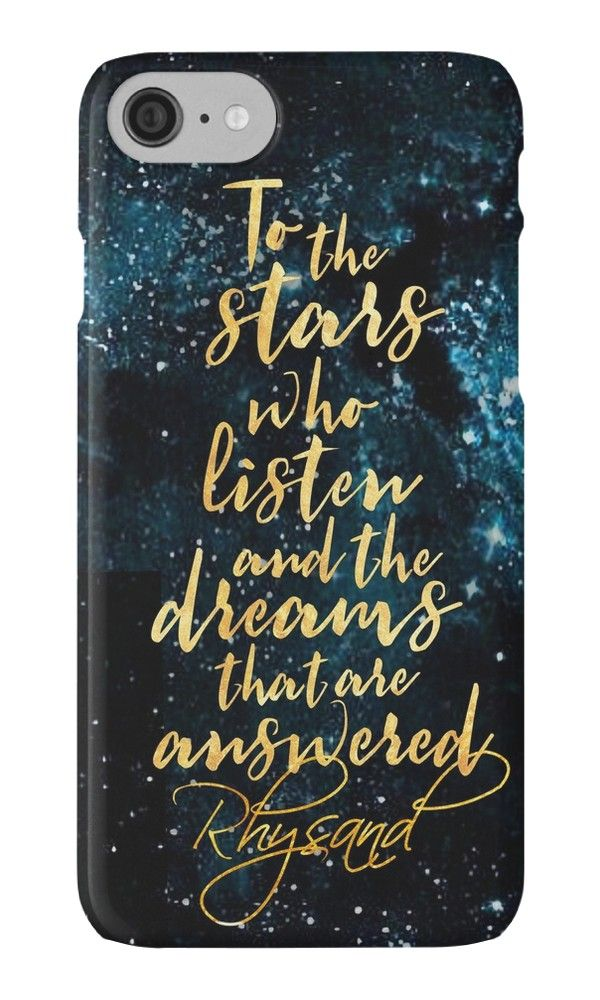 ACOMAF - To the Stars Who Listen And the Dreams that are Answered by nazeli • Also buy this artwork on phone cases, apparel, stickers, and more.