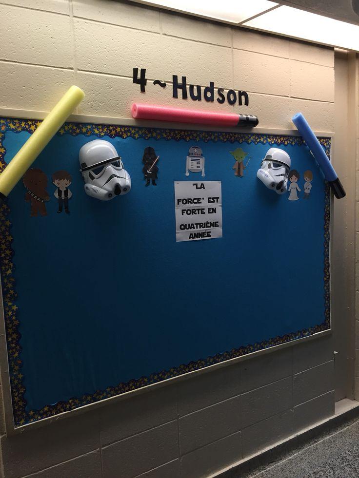 Star Wars Theme Bulletin Board Bulletin Boards Pinterest