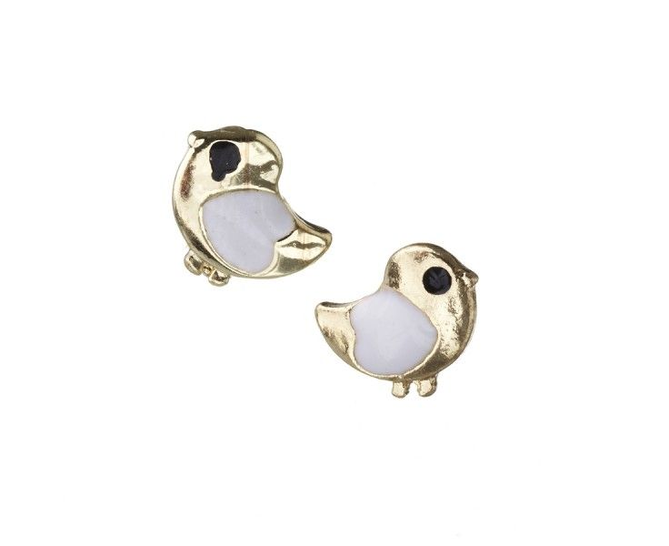 Gold Chick Studs from Diva, $3.99 at #MacquarieCentre