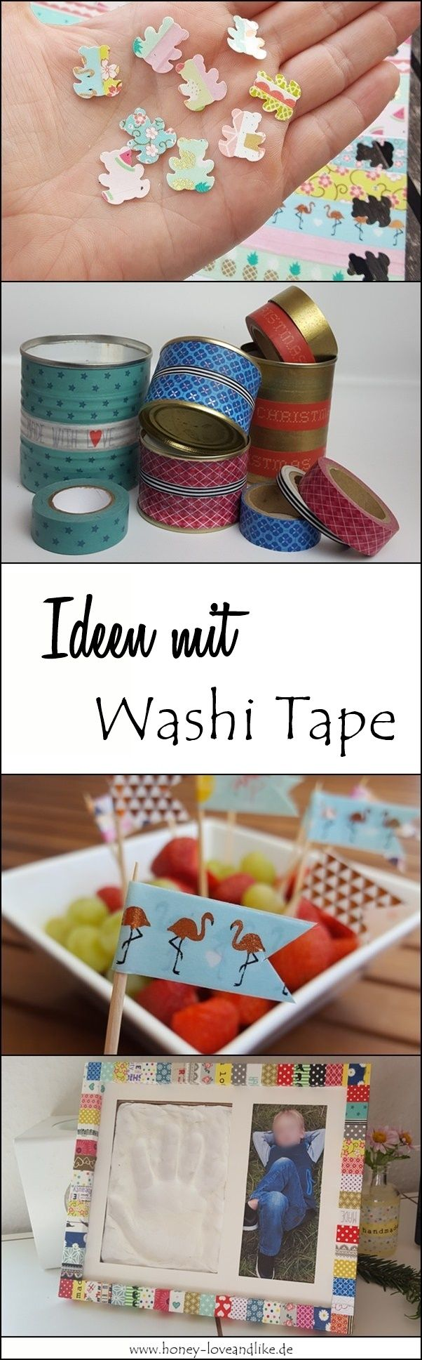 Das kannst du alles mit Washi Tape machen!