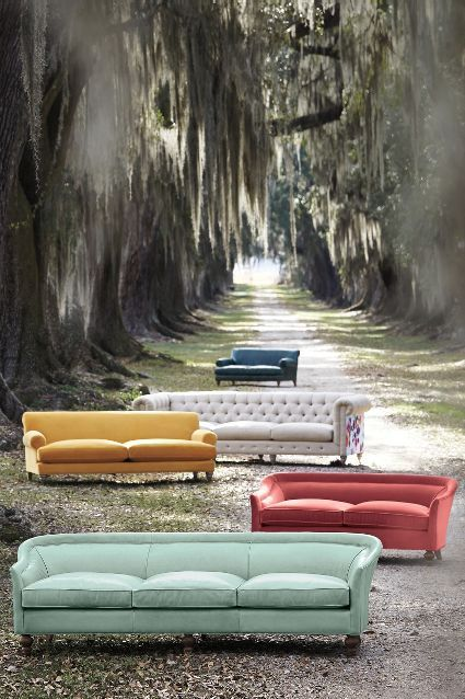 Leather Holloway Sofa - anthropologie.com
