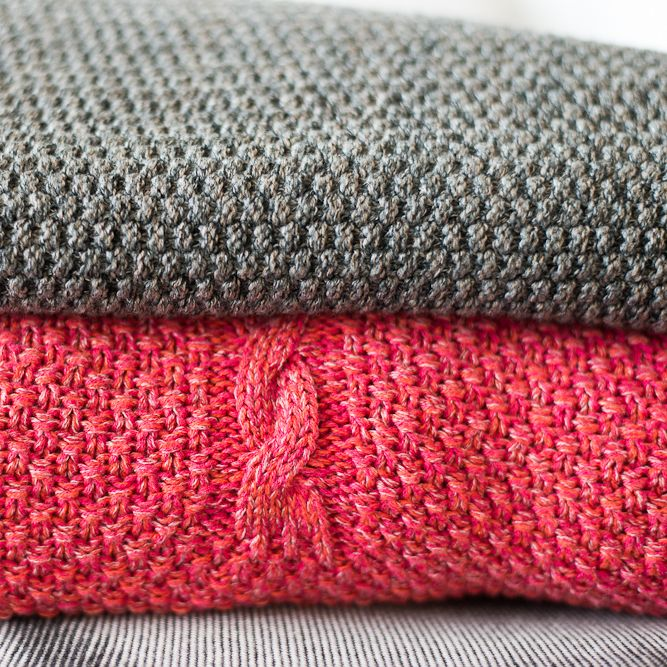 knitted textiles - project for Prince Hotel