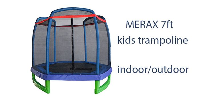 Merax 7ft kids trampoline review