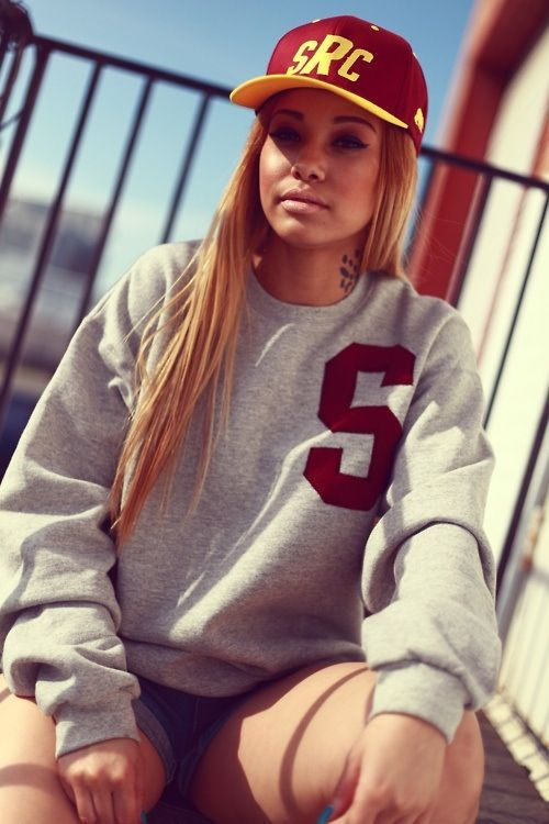Thug girl swag.