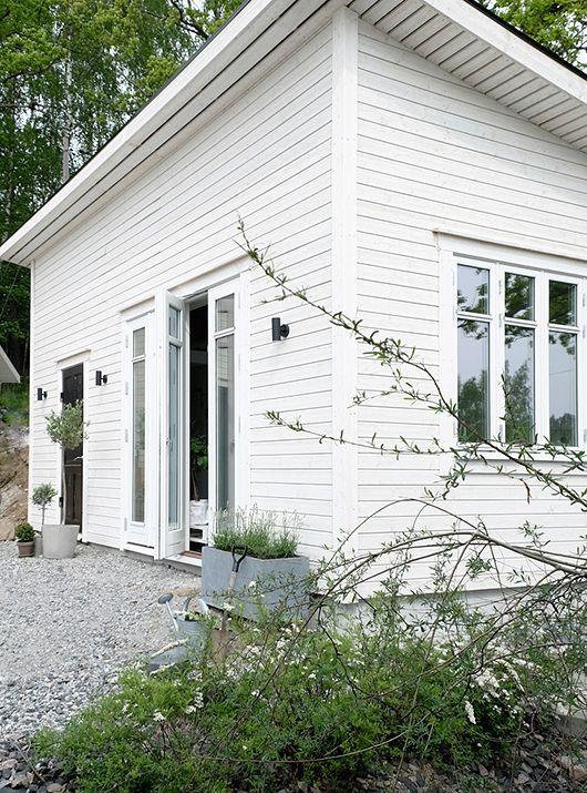 Inspiration Attefallshus som gäststuga / ateljé