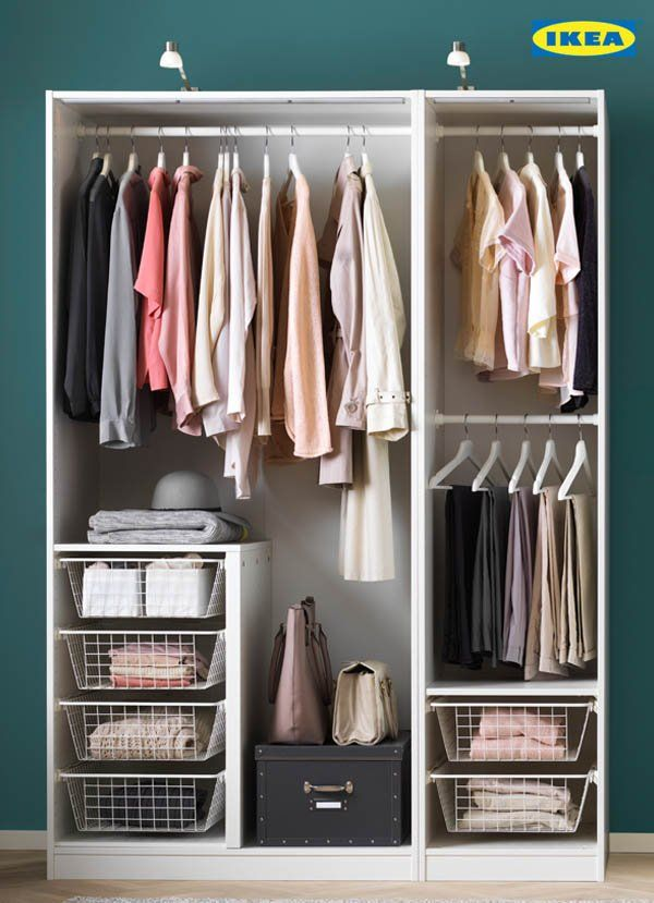 Talk about Organization goals. The PAX wardrobe is here through every season to make sure your wardrobe stays stylish and organized, just like you.