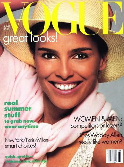 Shari Belafonte  - Vogue June 1986