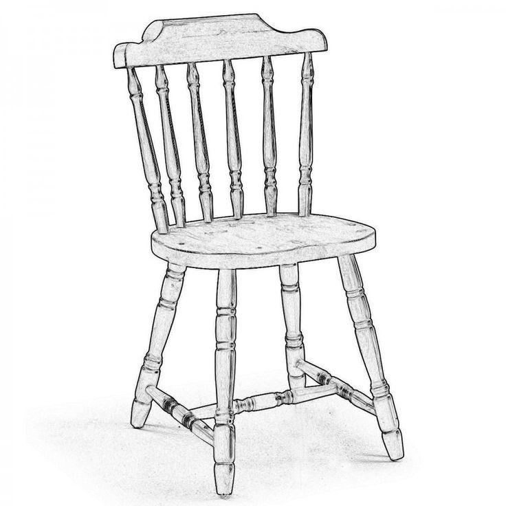 OLD AMERICA. Classica e dallo stile intramontabile, è la sedia Old America con i suoi dettagli torniti tipici della sua epoca. Noi la proponiamo nella versione in legno di pino in legno grezzo per potersi sbizzarrire e creare una sedia unica  e moderna oppure per verniciarla in stile classico.