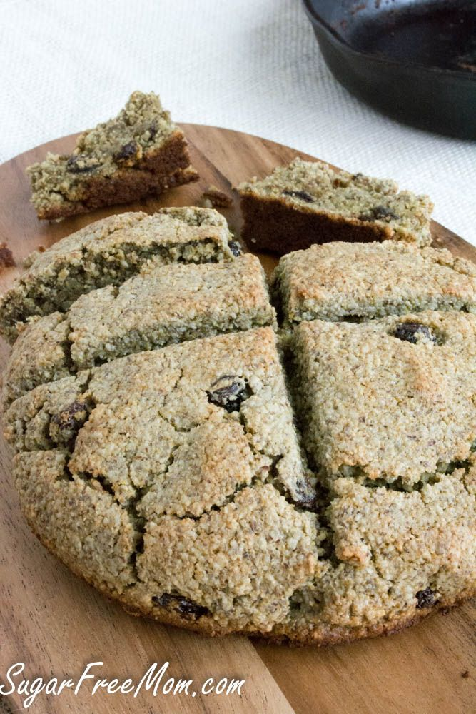 grain free, nut free - made with coconut flour and flaxseed flour - irish soda bread4 (1 of 1)