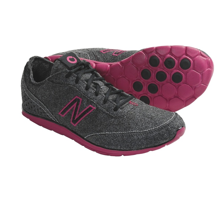 When I'm getting new gym shoes... find these!    New Balance WW01 New Sky Minimus Shoes - Minimalist, Recycled Materials (For Women) in Grey/Pink
