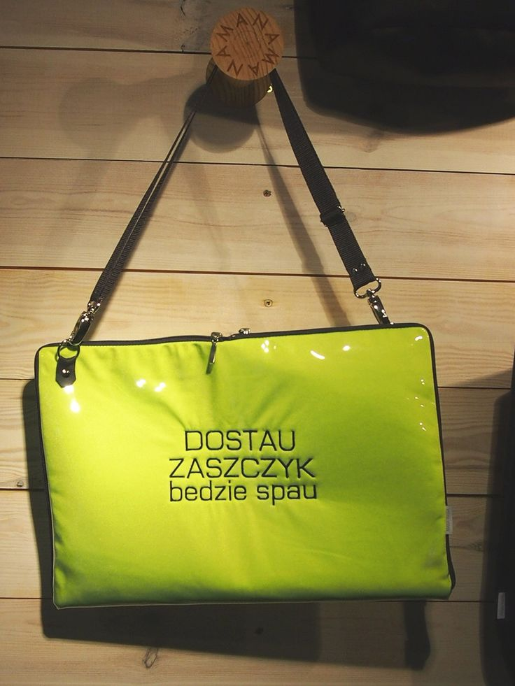 Torebka damska Etui na Laptop Dostau Zaszczyk, od projektanta MANA MANA | Mustache.pl