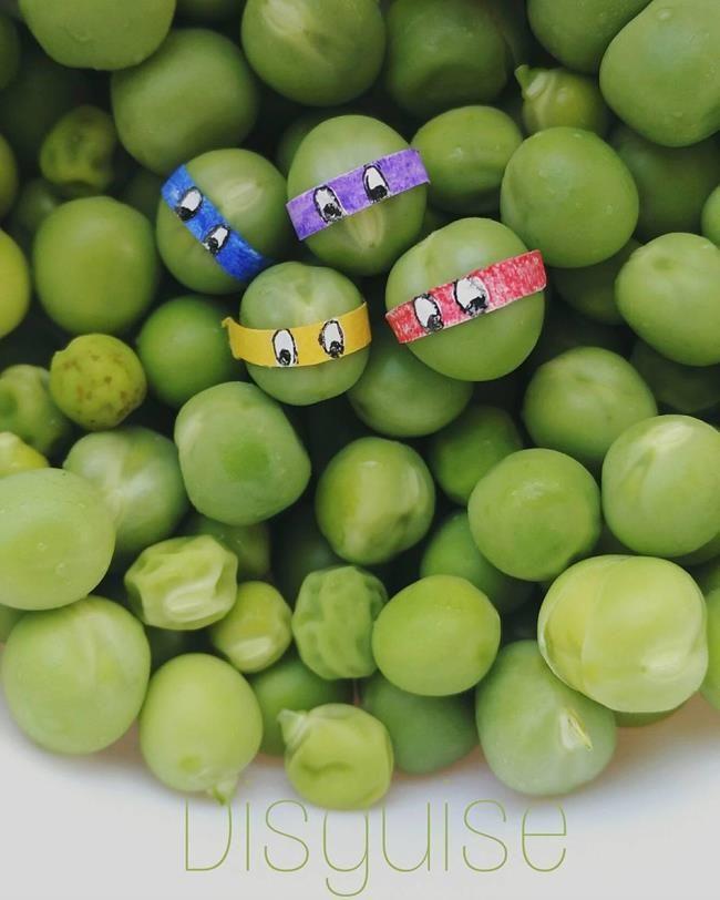 Gündelik Eşyalar ve Yiyecekler ile Oluşturulmuş Birbirinden Yaratıcı 20+ Çalışma Sanatlı Bi Blog 32