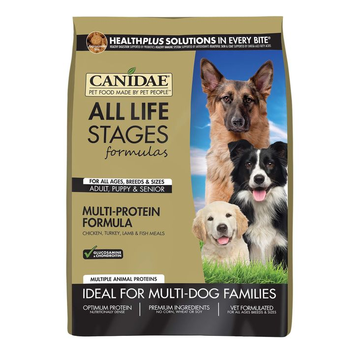 Canidae all life stages chicken turkey lamb fish meals