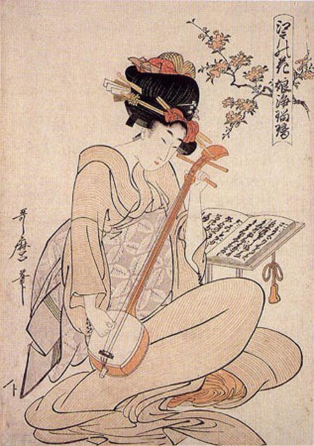Kitagawa Utamaro - Flowers Of Edo
